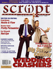 Script Magazine Cover