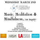 Music, Meditation & Mindfulness